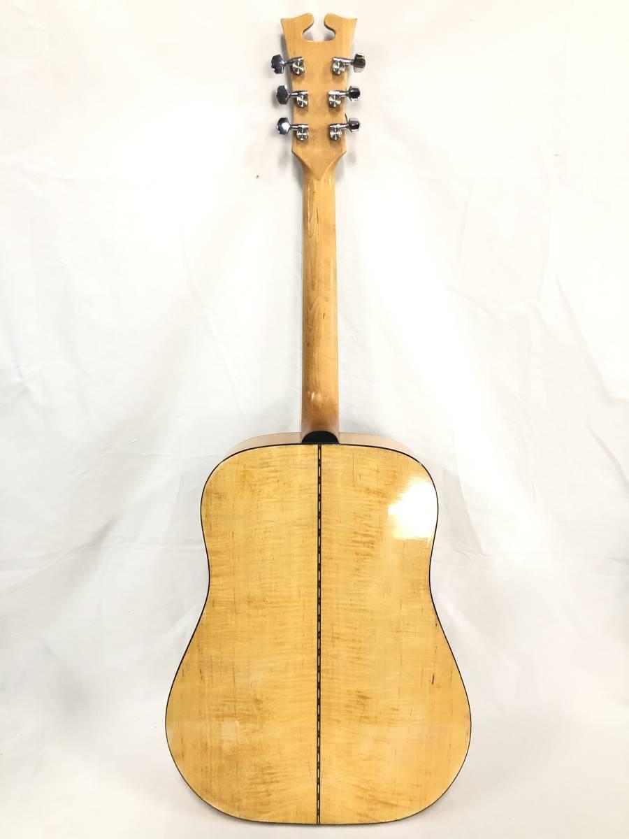 レア物 YAMAKI ヤマキ アコースティック ギター B40 バッファローヘッド 〇3_画像3