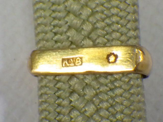 t9F138Z アンティーク 和装小物 帯留め 帯締め付 K18刻印有 ケース入り /52_画像5