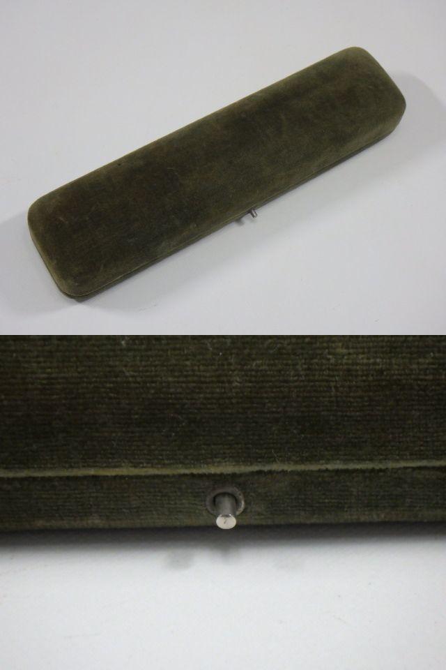 t9F138Z アンティーク 和装小物 帯留め 帯締め付 K18刻印有 ケース入り /52_画像9