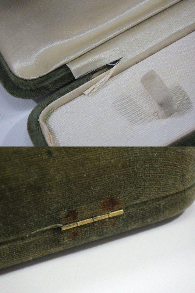 t9F138Z アンティーク 和装小物 帯留め 帯締め付 K18刻印有 ケース入り /52_画像10