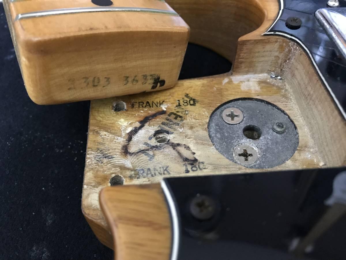 1円~最落なし! Fender Telecaster Custom Natural 1973年製 HC付 調整済 希少ビンテージ!極上サウンド! テレキャスターカスタム_画像10
