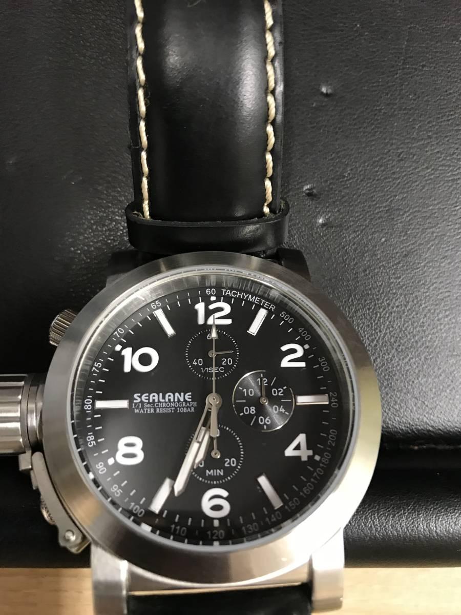 【4184】 シーレーン SEALANE 腕時計 HL1C 自動巻 メンズ 中古_画像2