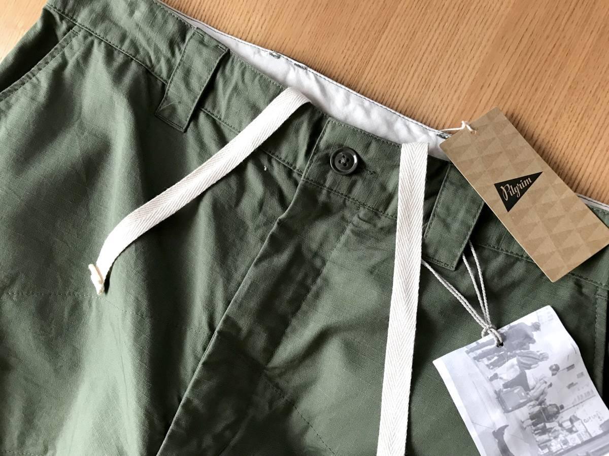 完売 希少★別注 限定 Engineered Garments × Pilgrim Surf+Supply / BIKE PANTS M エンジニアードガーメンツ ピルグリム バイクパンツ_画像4