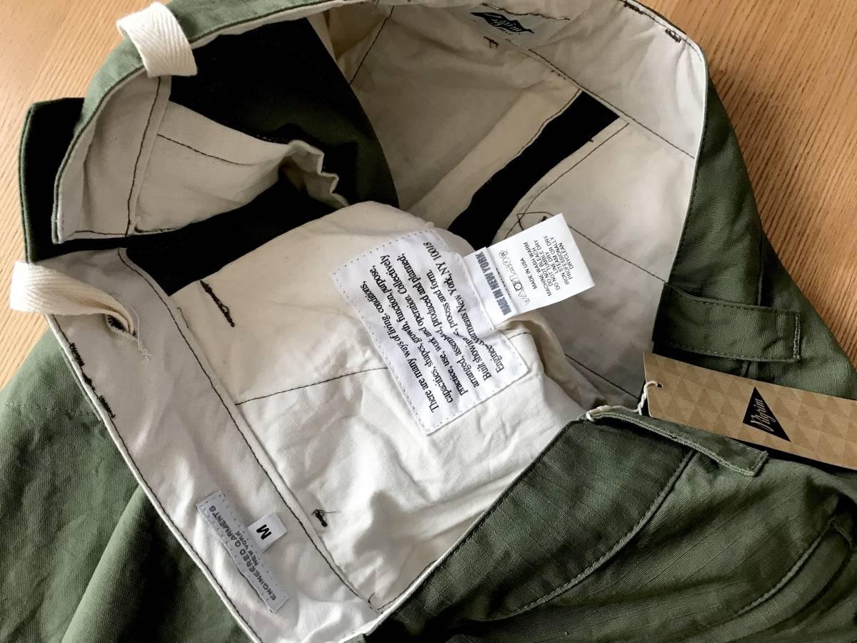 完売 希少★別注 限定 Engineered Garments × Pilgrim Surf+Supply / BIKE PANTS M エンジニアードガーメンツ ピルグリム バイクパンツ_画像10