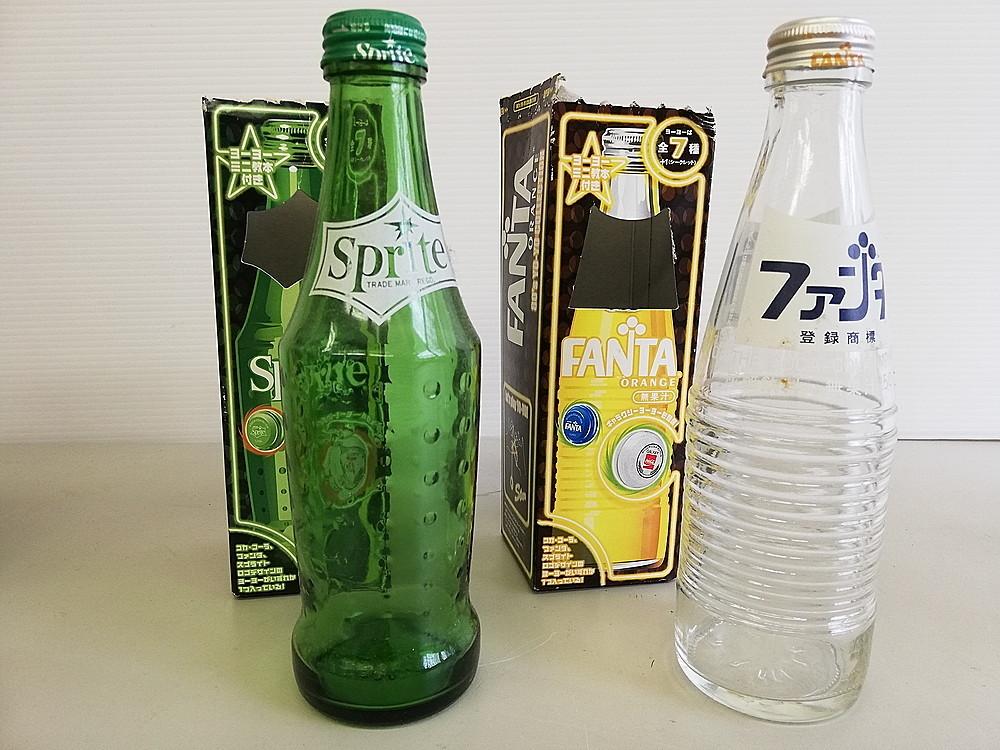 【レトロ】 ★ 復刻版 空き瓶セット ★ 『コカ・コーラ Coca-Cola』 『スプライト Sprite』 『ファンタ Fanta』 『KIRIN 麒麟』_画像3