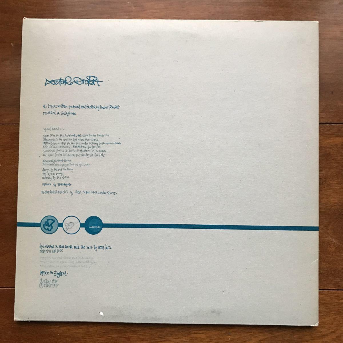 2枚セット!! Doctor Rockit / Ready To Rockit 2×10inch + The Music Of Sound 2LP // Matthew Herbert_画像7