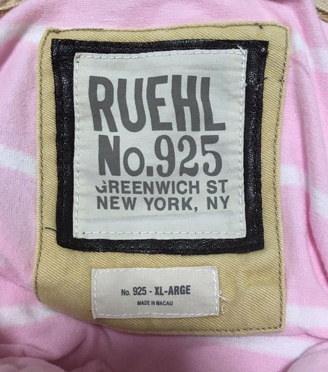 希少 RUEHL NO.925 ルールナンバー925 半袖 ポロシャツ ボーダー柄 サイズ S_画像8