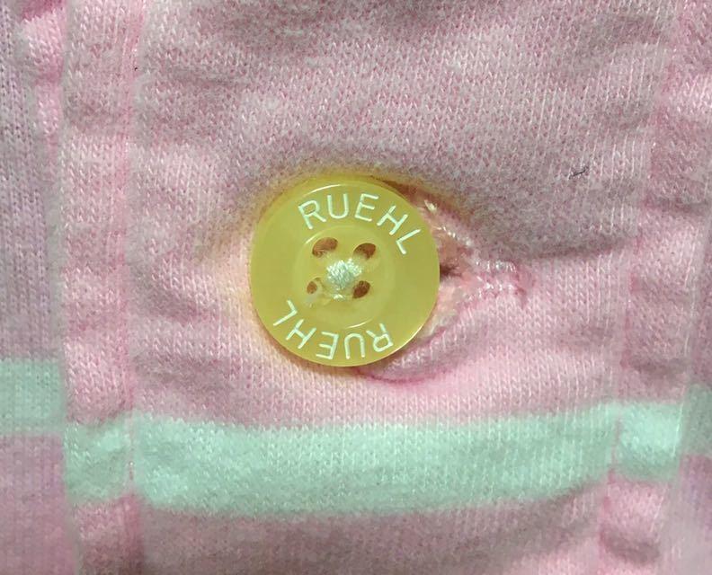 希少 RUEHL NO.925 ルールナンバー925 半袖 ポロシャツ ボーダー柄 サイズ S_画像7