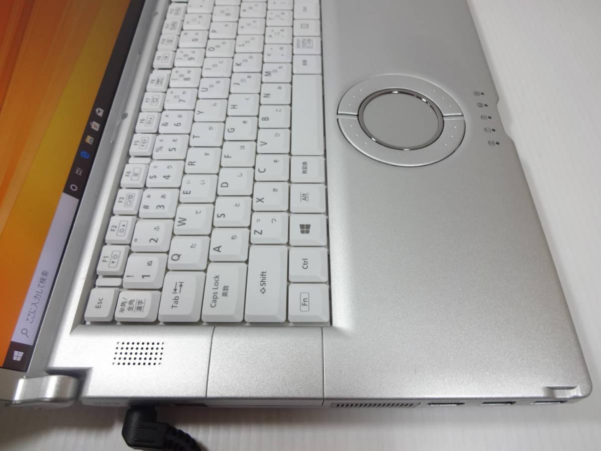 フルHD Panasonic Lets note CF-B11 Core i5 3340M 2.7GHz メモリ:4GB SSD:128GB 10Pro 8Pro リカバリ領域 1920×1080_画像3