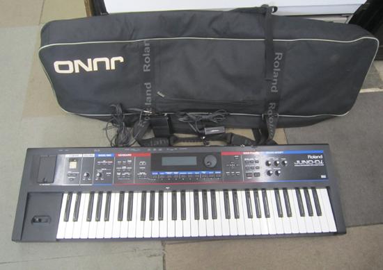 Roland/ローランド JUNO-Di 61鍵盤 シンセサイザー キーボード ケース アダプター付き 動作確認済み_画像1