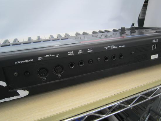 Roland/ローランド JUNO-Di 61鍵盤 シンセサイザー キーボード ケース アダプター付き 動作確認済み_画像8