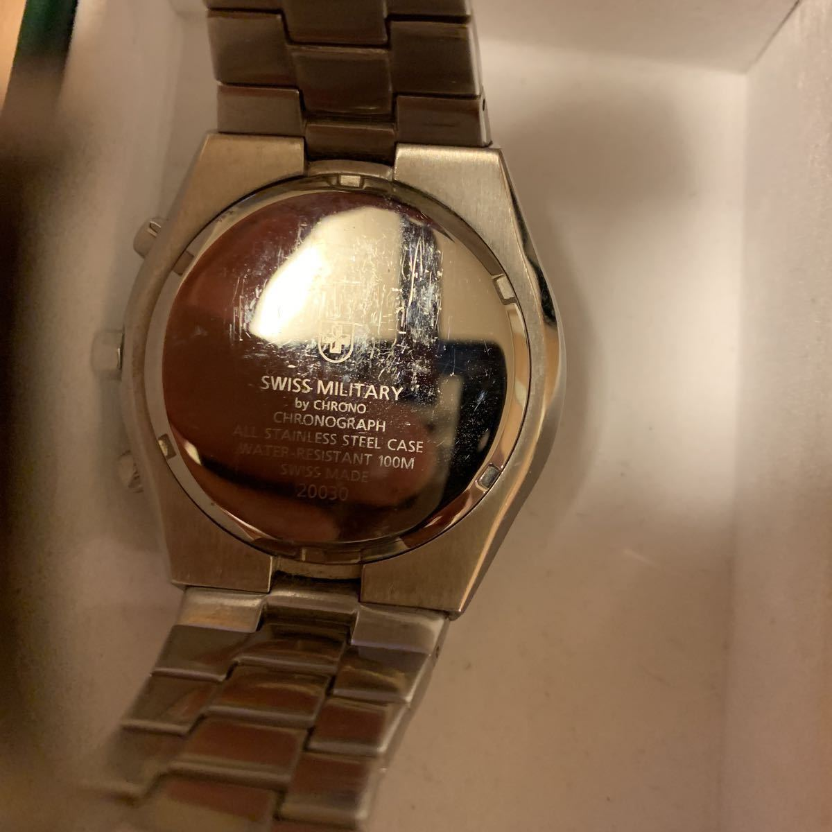 スイスミリタリー SWISSMILITARY 腕時計 中古 正規品_画像3