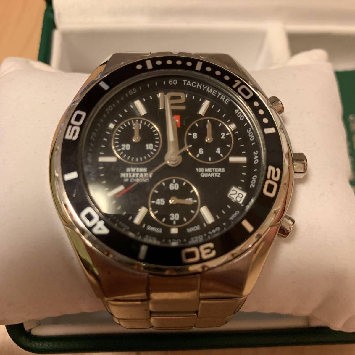スイスミリタリー SWISSMILITARY 腕時計 中古 正規品_画像2