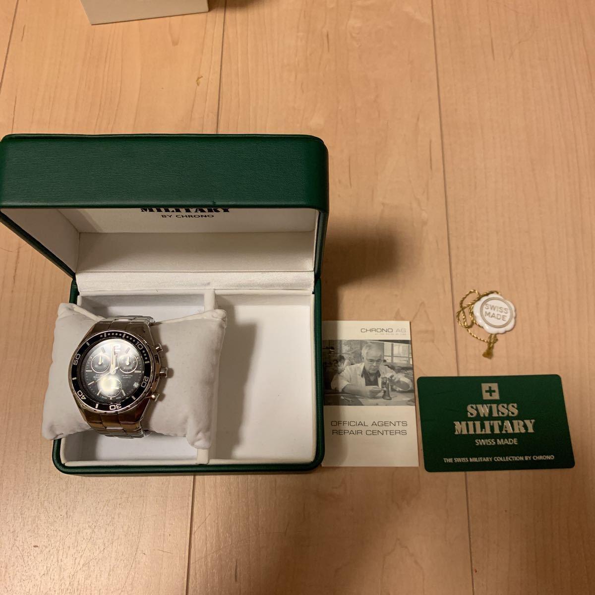 スイスミリタリー SWISSMILITARY 腕時計 中古 正規品_画像4