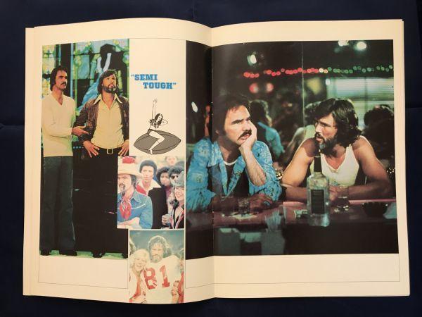 70年代 バート・レイノルズ主演映画 パンフレット3冊セット ハル・ニーダム マイケル・リッチー ワーナーブラザース_画像6