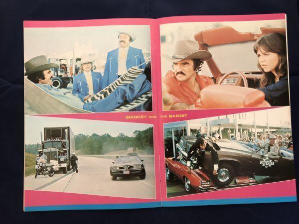 70年代 バート・レイノルズ主演映画 パンフレット3冊セット ハル・ニーダム マイケル・リッチー ワーナーブラザース_画像3