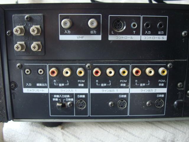 SONY ソニー ビデオデッキ EDベータ EDV-9000 ジャンク品_画像7