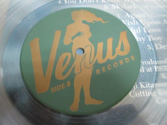 希少!美品!エディ・ヒギンズ・ソロ・ピアノ あなたは恋を知らない 帯付きLP VENUS ヴィーナス 180g高音質重量盤 クリアレコード_画像5