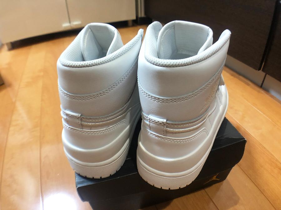 1円スタート最落無し【SNKRS購入品】希少な白 NIKE ナイキ エアジョーダン 1 ダブルストラップ Air Jordan 1 Double Strap 28.0cm 未使用_画像4