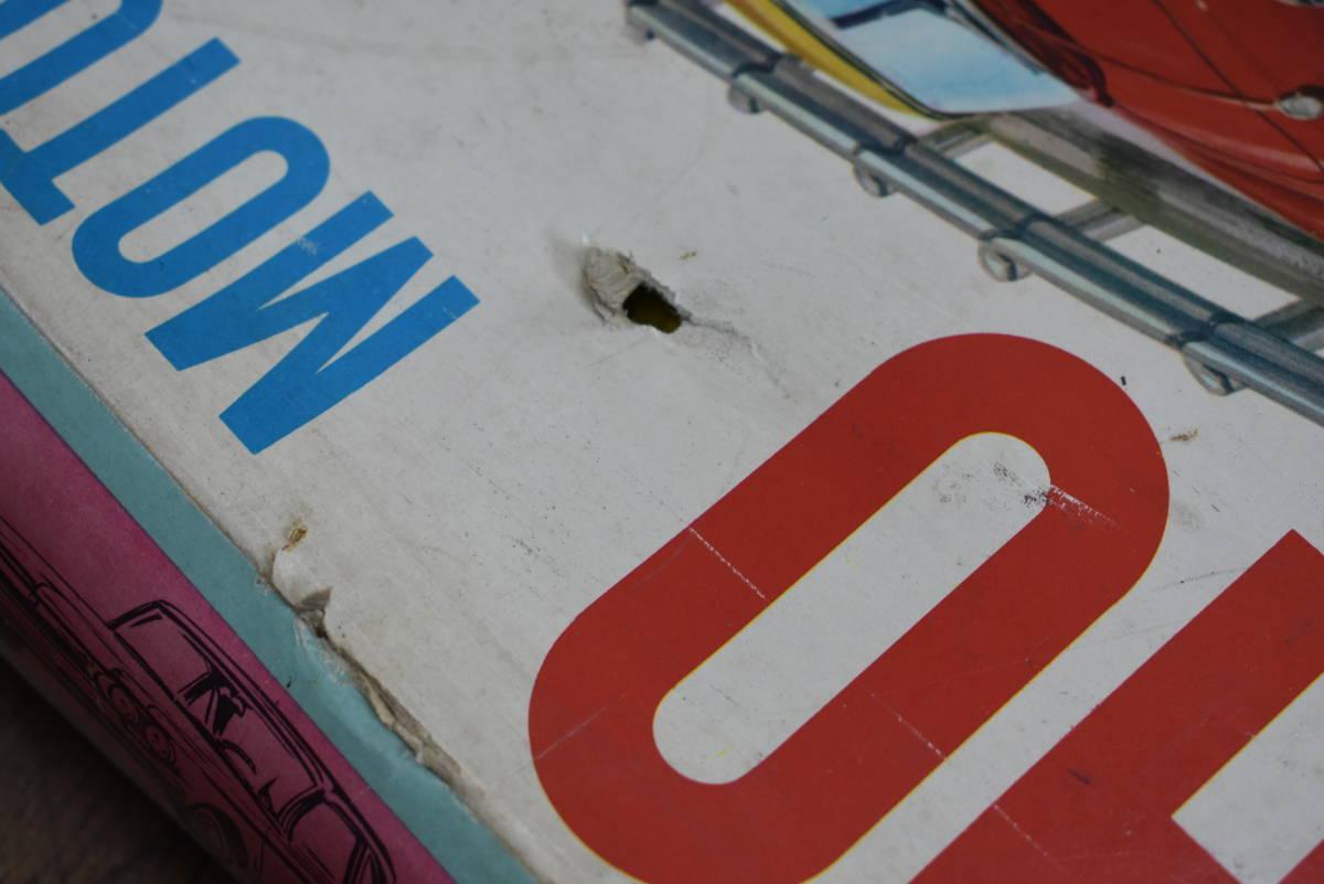 ドール 昭和レトロ マルサン HO MOTORING&RACING 欠品有り スロットカーセット 当時物 ジャンク_画像4