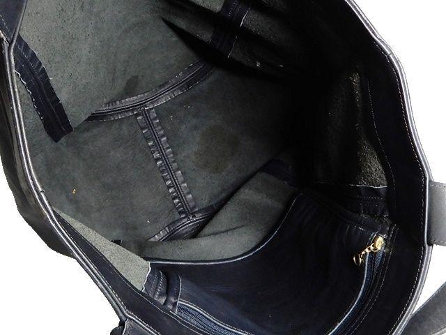 即決★米国製 COACH★オールレザートートバッグ オールドコーチ メンズ 黒 本革 ショルダー 本皮 かばん 通勤 旅行 トラベル 鞄 レディース_画像7