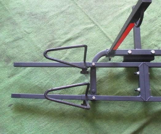 サイクルヒッチキャリア ヒッチキャリア 自転車ヒッチキャリア 2台積み 2台積載_画像6