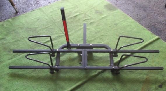 サイクルヒッチキャリア ヒッチキャリア 自転車ヒッチキャリア 2台積み 2台積載_画像1