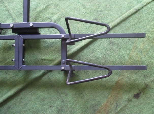 サイクルヒッチキャリア ヒッチキャリア 自転車ヒッチキャリア 2台積み 2台積載_画像5