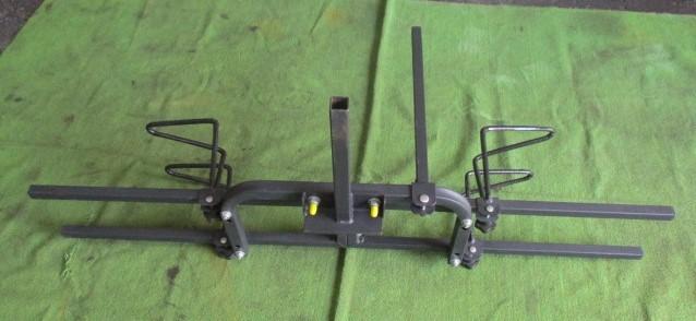 サイクルヒッチキャリア ヒッチキャリア 自転車ヒッチキャリア 2台積み 2台積載_画像3