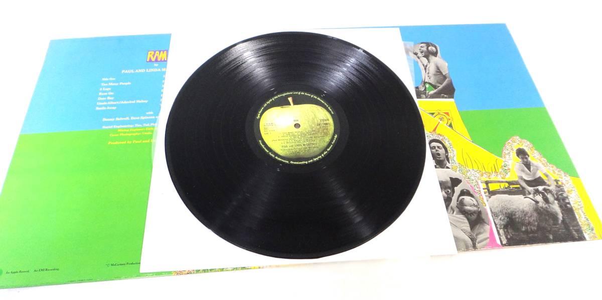 〇1743 ポールマッカートニー RAM/ラム PAS 10003/国内版 帯付き レコード_画像3