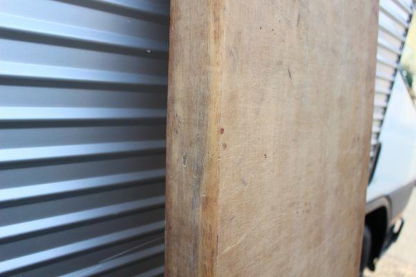 銀杏/イチョウ まな板 特大1620x335x75mm カウンター材/看板材料_画像2