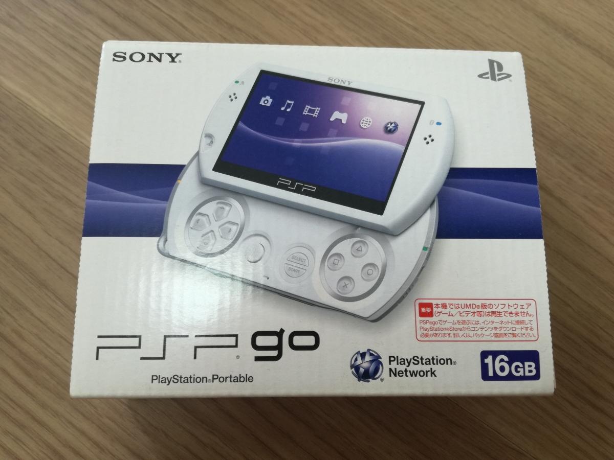 【新品・未使用】PSP go「プレイステーション・ポータブル go」 パール・ホワイト PSP-N1000PW