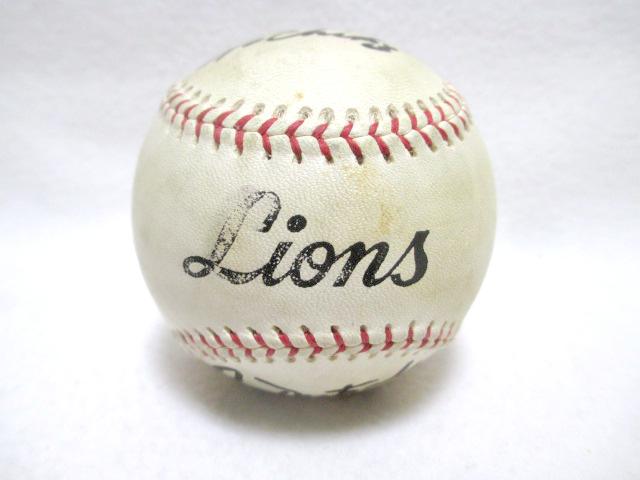 当選品 西武ライオンズ オレステス・デストラーデ 直筆サイン入り 実使用ボール 野球 1995 39 _画像2
