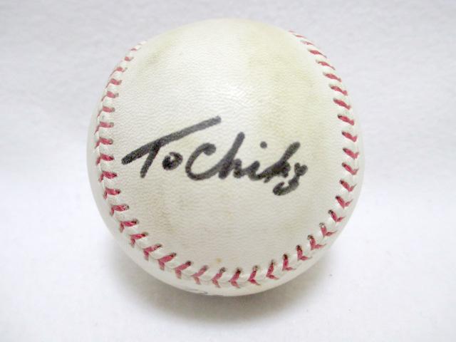 当選品 西武ライオンズ オレステス・デストラーデ 直筆サイン入り 実使用ボール 野球 1995 39 _画像3