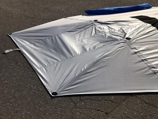 15 保管品【 CAR SUNCLOSE 】車用サンシェード 日よけ 吸盤取付式 キャンプ 海水浴 160_画像4
