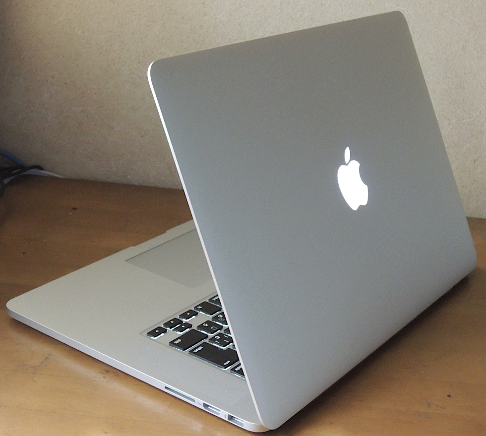 りんごの光る最後のMacBook Pro