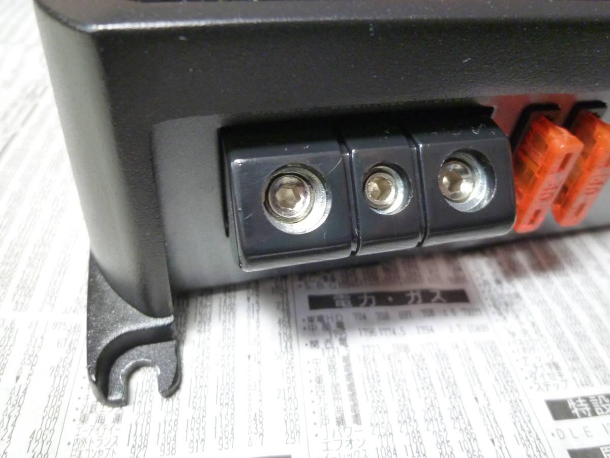オルタ・ポップノイズチェック車載確認済 1週間動作保証 カロッツェリア carrozzeria モノラルデジタルパワーアンプ GM-D7100 安いヤフネコ_画像3
