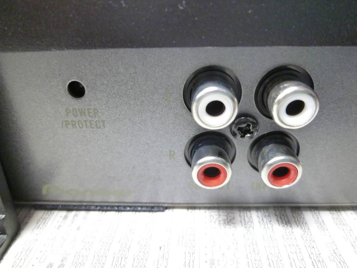 オルタ・ポップノイズチェック車載確認済 1週間動作保証 カロッツェリア carrozzeria モノラルデジタルパワーアンプ GM-D7100 安いヤフネコ_画像8