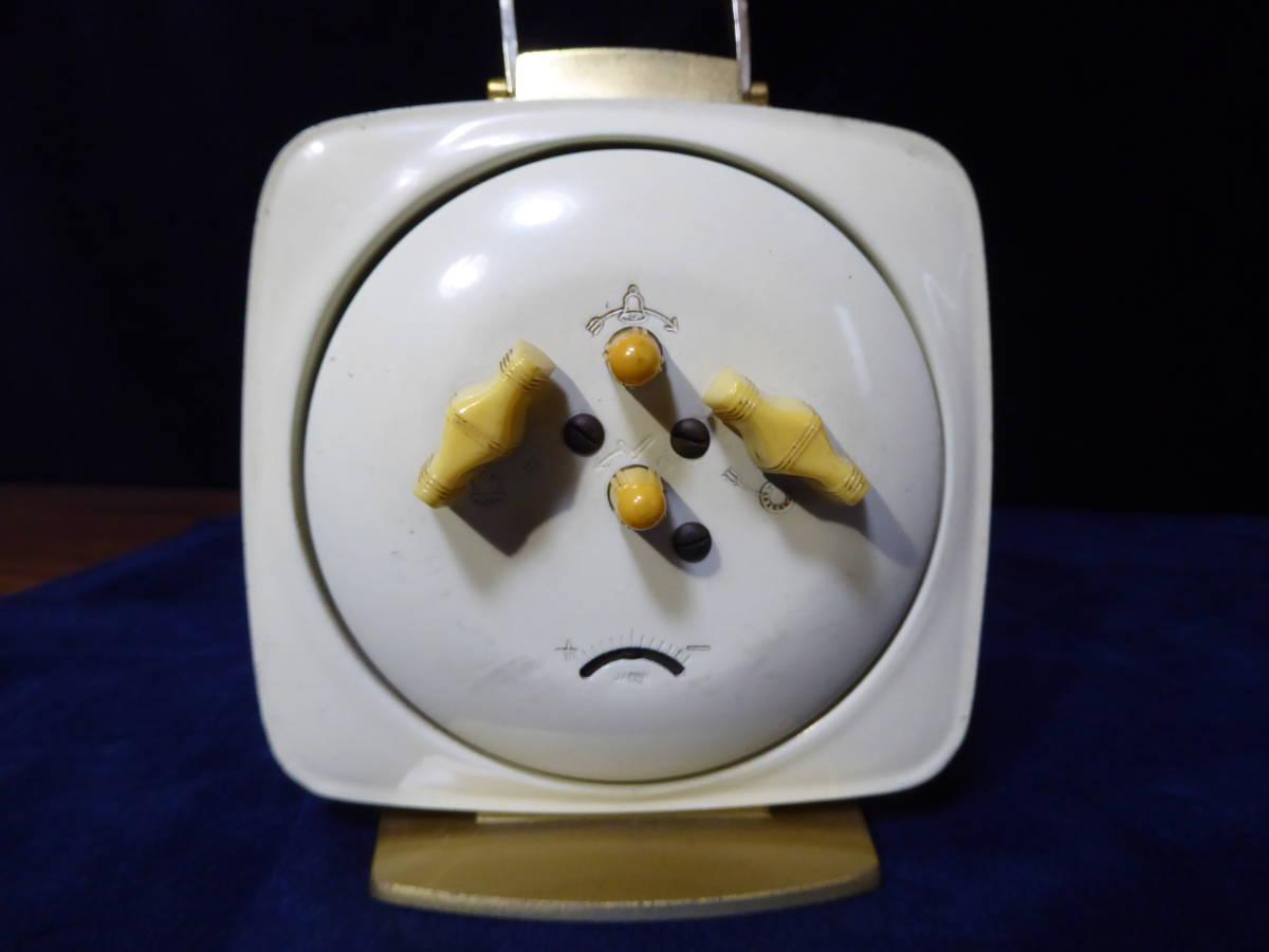 【昭和レトロ】SEIKO セイコー置時計(ゼンマイ式)×2個 WELMY6(カメラ)_画像7