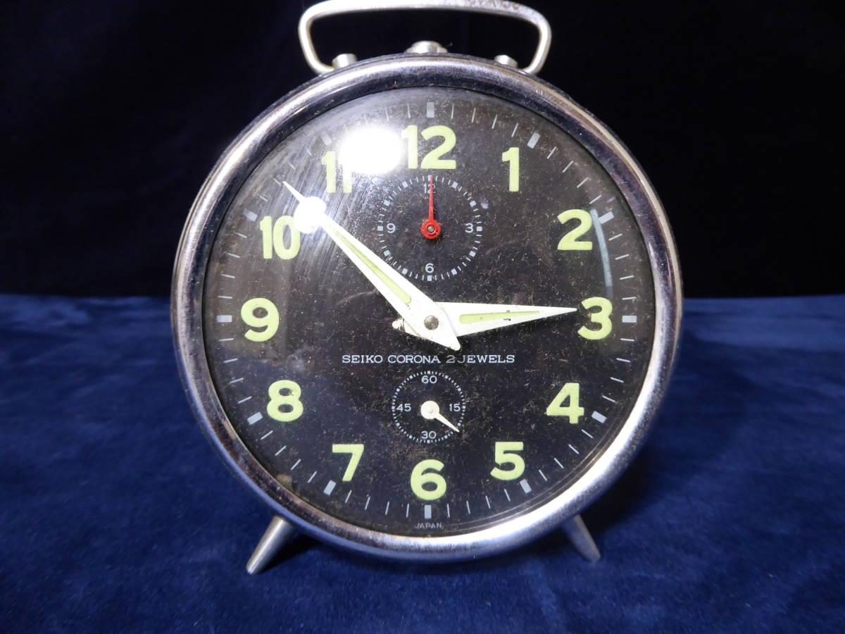 【昭和レトロ】SEIKO セイコー置時計(ゼンマイ式)×2個 WELMY6(カメラ)_画像8
