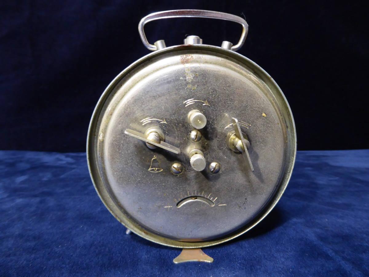 【昭和レトロ】SEIKO セイコー置時計(ゼンマイ式)×2個 WELMY6(カメラ)_画像9