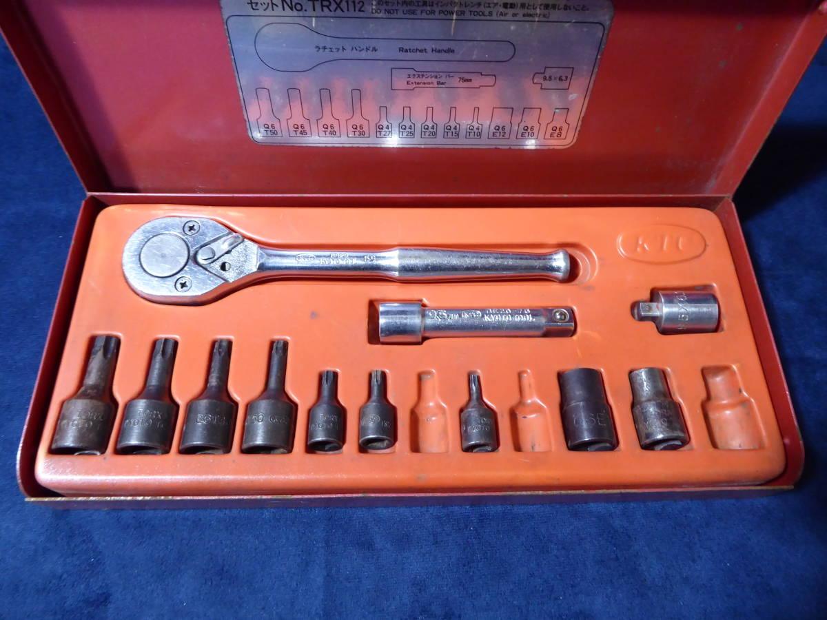 KTC トルクスレンチセット 自動車整備機械工具_画像2