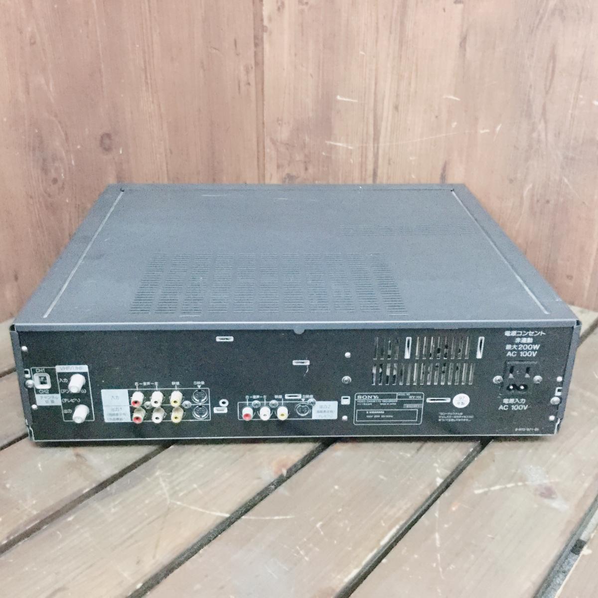 ☆ SONY ソニー WV-H4 Hi8 VHS 一体型 ビデオカセットレコーダー ビデオデッキ ジャンク ☆_画像2