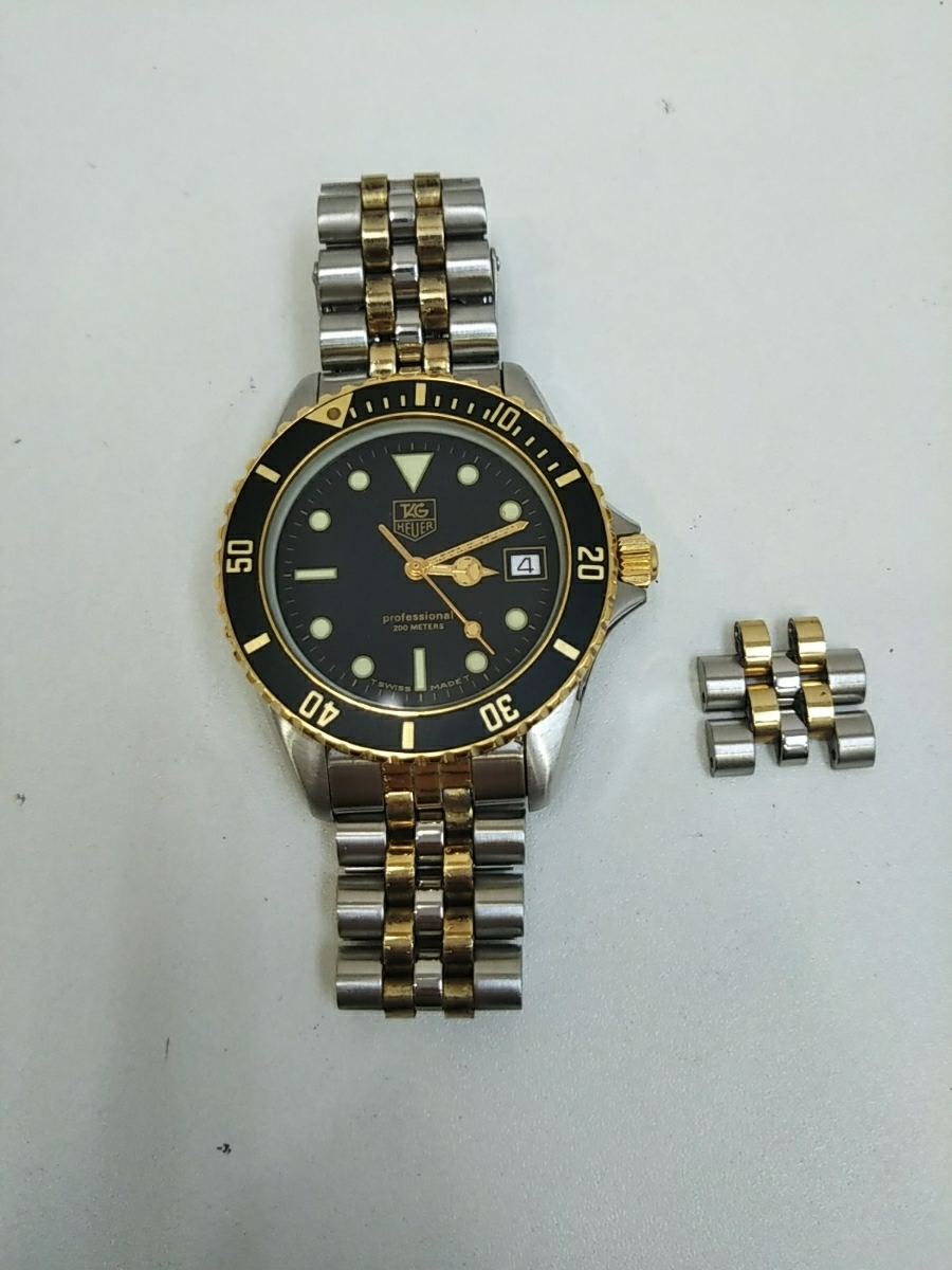 TAG Heuer Tag Heuer 980.020B professional 200m replacement with coma
