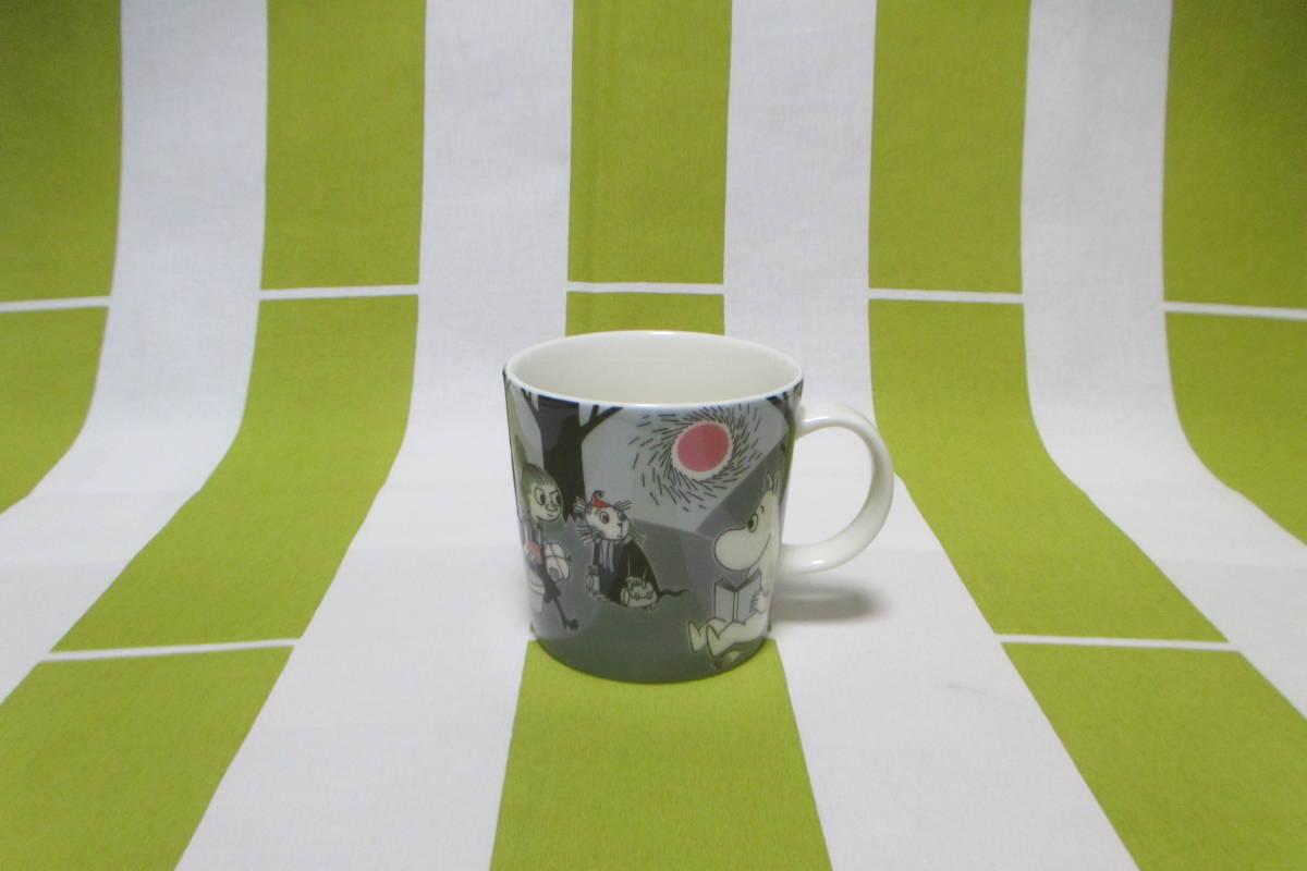 アラビア◇ムーミン マグカップ◇アドベンチャームーブ 旧ロゴ マグ_画像1