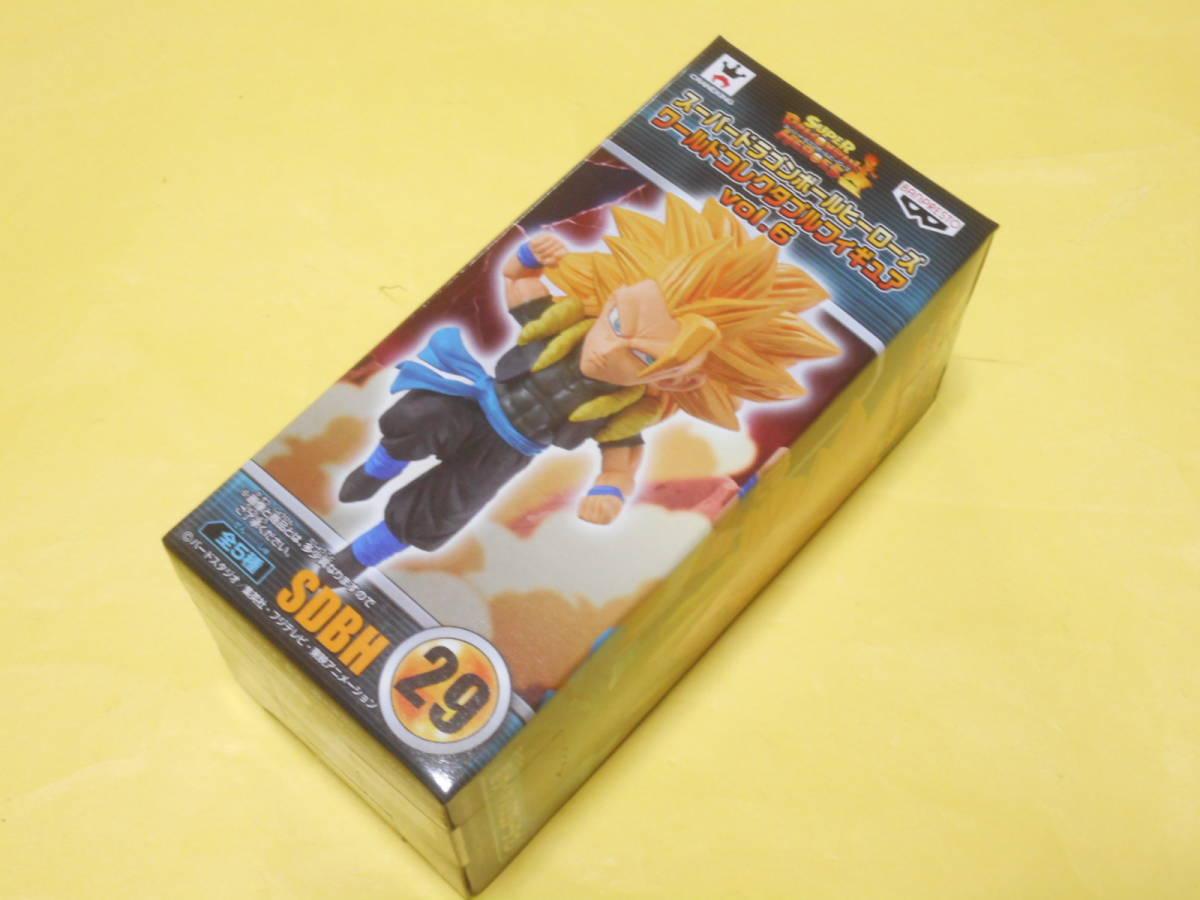 スーパードラゴンボールヒーローズ ワールドコレクタブルフィギュアvol.6 SDBH29 超サイヤ人3ゴジータ:ゼノ _画像1