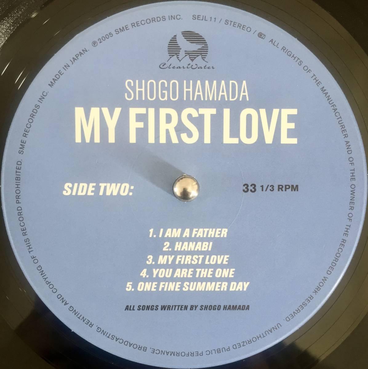 極美盤 シール帯付き 浜田省吾 - MY FIRST LOVE ブックレット完備 限定盤 HAMADA SYOGO CITY POP LIGHT MELLOW 和モノ アナログレコード LP_画像9