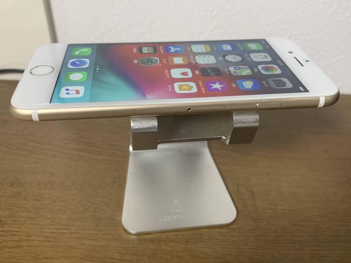 バッテリー 82% 利用制限◯ au 中古美品 iPhone7 128GB ゴールド アクティベートロック解除済み IOS 12.3_画像3