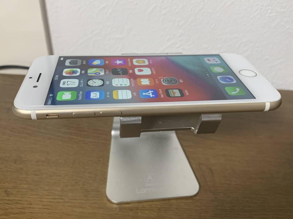 バッテリー 82% 利用制限◯ au 中古美品 iPhone7 128GB ゴールド アクティベートロック解除済み IOS 12.3_画像5