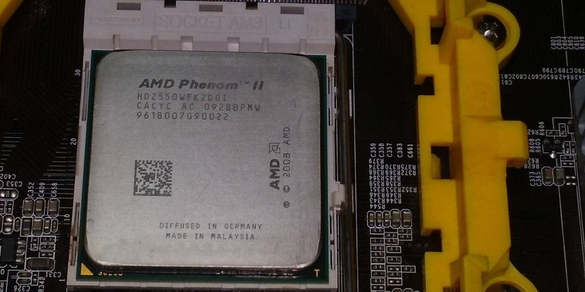 【ジャンク】自作デスクトップ Phenom II X2 550 GeForce 9800 GT メモリ4GB【電源入りませんでした】 _画像6